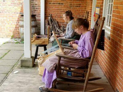 Tape Loom Weaving Adult Workshop