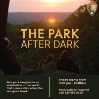Park After Dark Night Hike