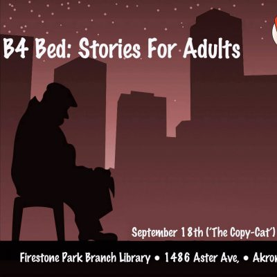 B4 Bed: Stories For Adults (The Copy-Cat)