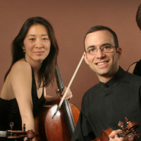 Brentano String Quartet with flutist Marina Piccin...