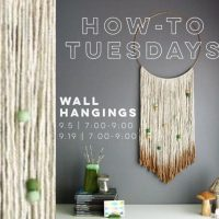 How-To Tuesdays : Wall Hangings