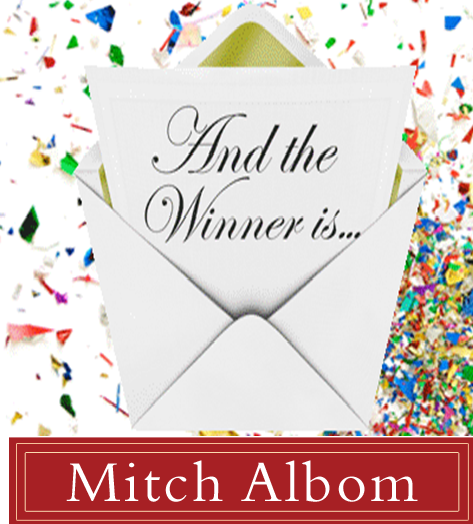 And the winner is mitch albom