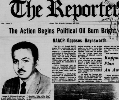 Searching The Reporter: Akron's African American Newspaper on Ohio Memory