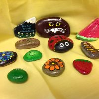 Painted Pebbles - Day Session