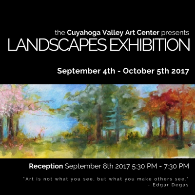 Landscapes Exhibition RECEPTION