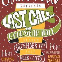 Crafty Mart presents Last Call at Goodyear Hall