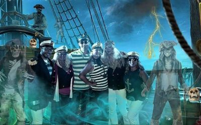 Pirate themed Halloween Party with Overboard at On...