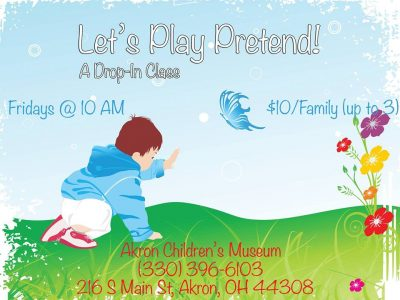 Let's Play Pretend! (A Drop-In Class)
