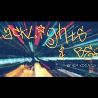 Blacklights and Beats | Hip Hop Yoga