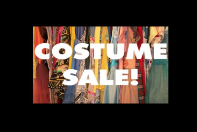 Costume sale at Weathervane Playhouse