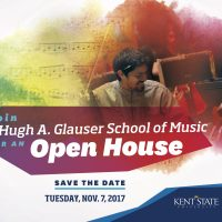 Kent State School of Music Open House