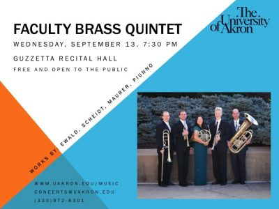 University of Akron Faculty Brass Quintet