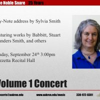 The Noble Snare - Volume 1 Concert