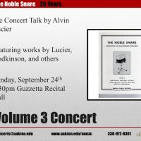 The Noble Snare -- Volume 3 Concert