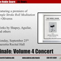 The Noble Snare -- Volume 4 Concert