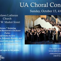 """Aware,"" The University of Akron Choral Program"
