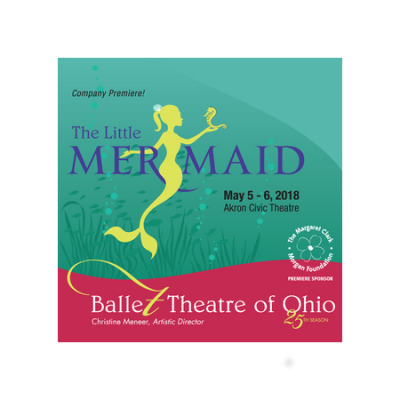 Ballet Theatre of Ohio presents The Little Mermaid ONSALE 11/25