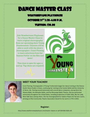 Young Frankenstein Master Class