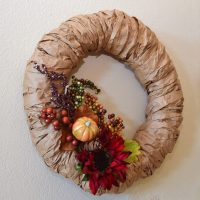 Vicki's Creative Circle: Paper Bag Wreath