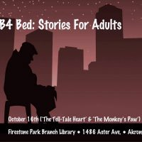 B4 Bed: Stories For Adults (Tell-Tale Heart & Monkey's Paw)