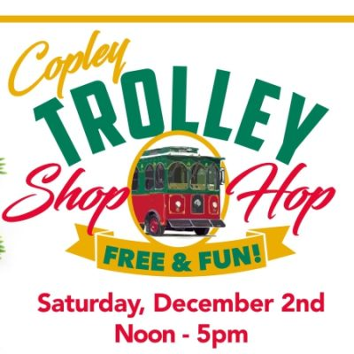 3rd Annual Trolley Shop Hop / 50th Annual Circle Lighting