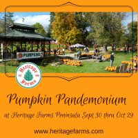 Pumpkin Pandemonium at Heritage Farms thru Sunday ...
