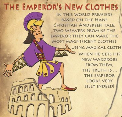 """""""The Emperor's New Clothes"""""""