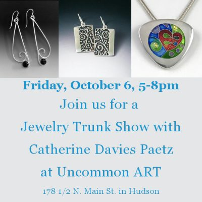 Jewelry trunk show with catherine davies paetz presented for Norton jewelry show 2017