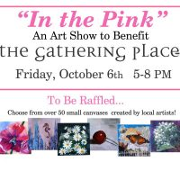In The Pink, an art show benefiting The Gathering Place