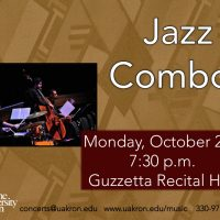 UA Jazz Combos to Perform