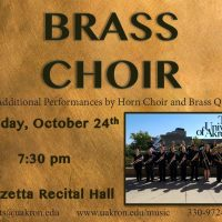 UA Brass Choir and Brass Quintets