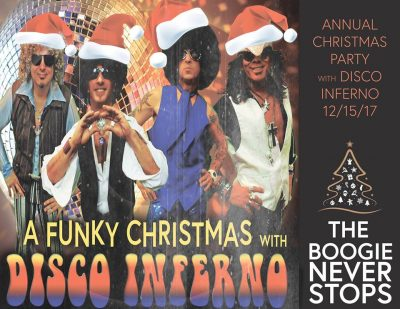 2017 Christmas Party with Disco Inferno