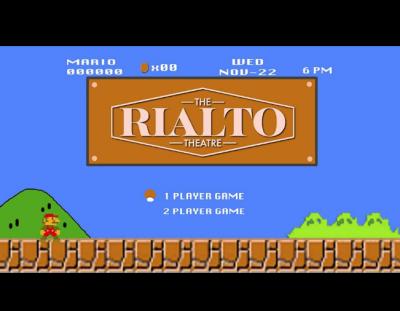 Game Night at The Rialto Theatre