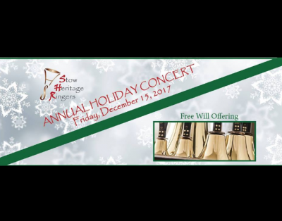 Stow Heritage Ringers Annual Holiday Concert 2017