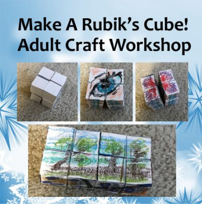 Free Canvas Cubed Adult Workshop