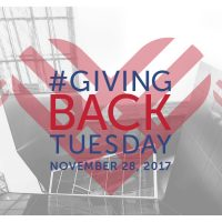 #GivingBACKTuesday
