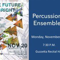 UA Percussion Ensemble