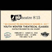 Youth Theatre Classes at Theatre 8:15