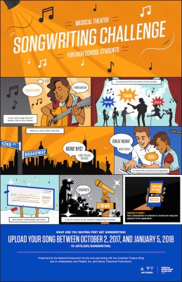 National Endowment for the Arts - Musical Theatre Songwriting Challenge