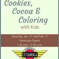Cookies, Cocoa and Coloring with Kids