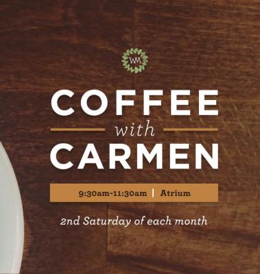 Coffee with Carmen