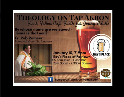 Theology on Tap Akron January