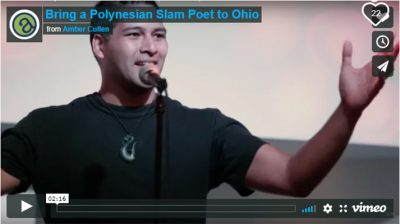 """""""Until Name Becomes Prayer: A Poetry Slam Event"""" in Akron"""