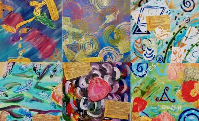 Meditative Painting: Tener Duende (Having 'Soul') at Summit Artspace on Tusc