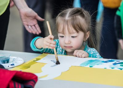 Tots Create: Fingerprint Impression Art