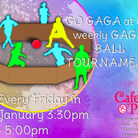 WEEKLY GAGA BALL TOURNAMENT