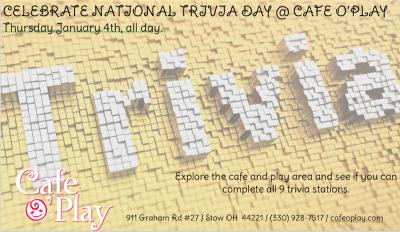 TRIVIA DAY @ CAFE O'PLAY