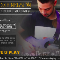 BOSH NELSON Live On The Cafe Stage!