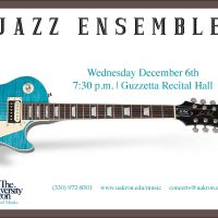 UA Jazz Ensemble to Perform