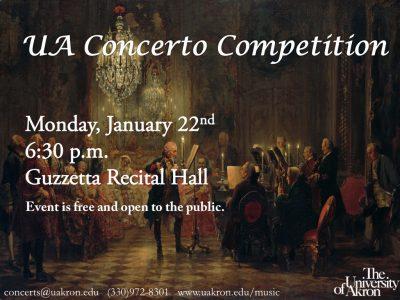 UA Concerto Competition